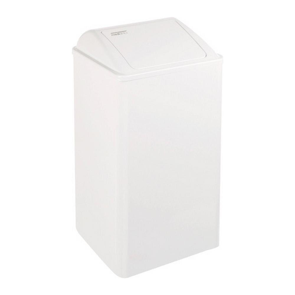 Mediclinics | Afvalbak | Gesloten | Wit | Inhoud 65 liter
