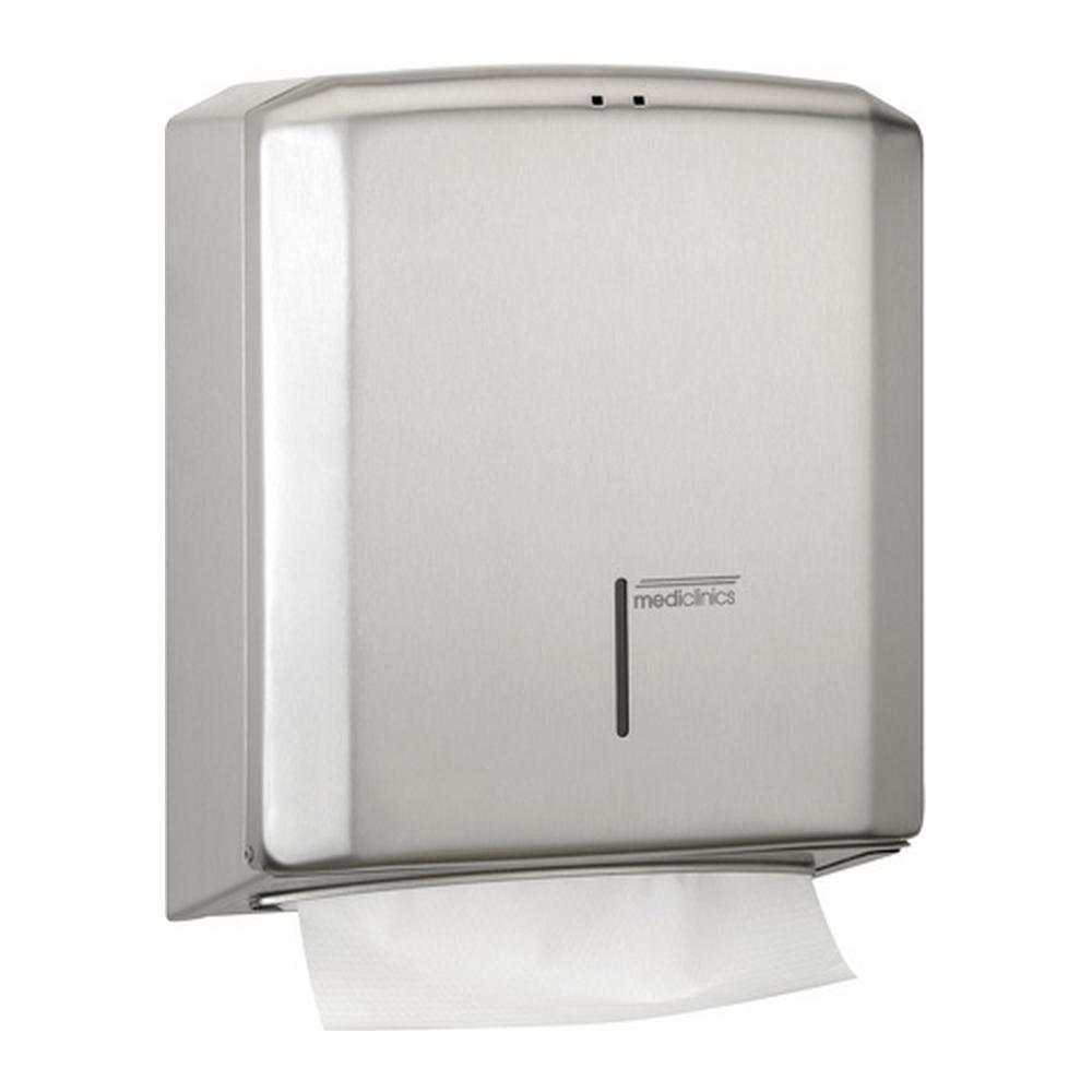 Mediclinics | Handdoek dispenser | RVS