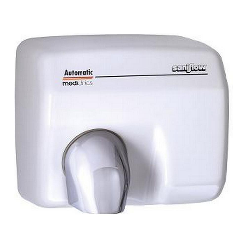 Mediclinics | Handdroger | Automatisch | 2250 watt | Wit | Staal