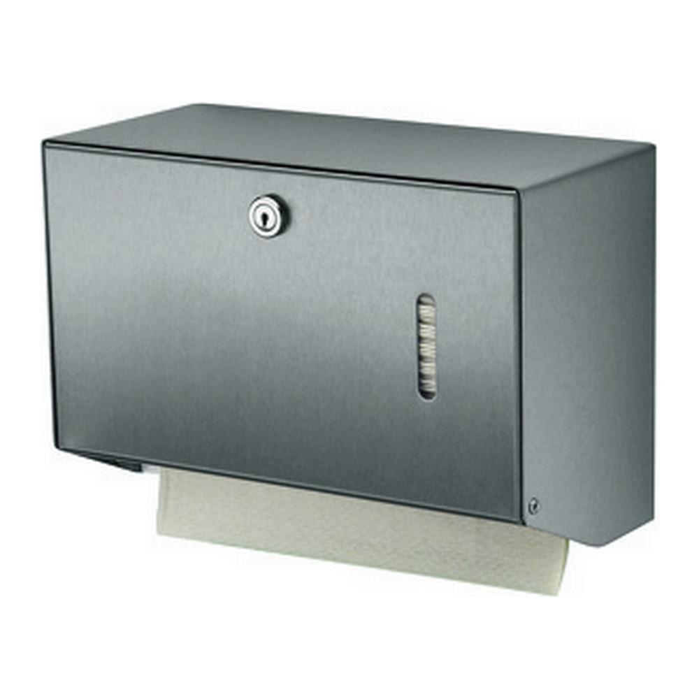 MediQoline | Handdoek dispenser | Klein | RVS
