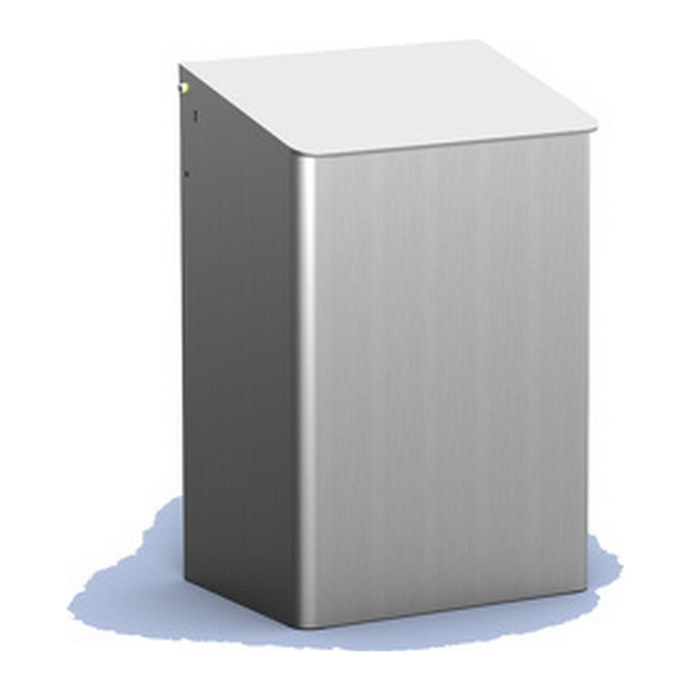 MediQoline | Afvalbak | Gesloten | Aluminium | Inhoud: 15 liter