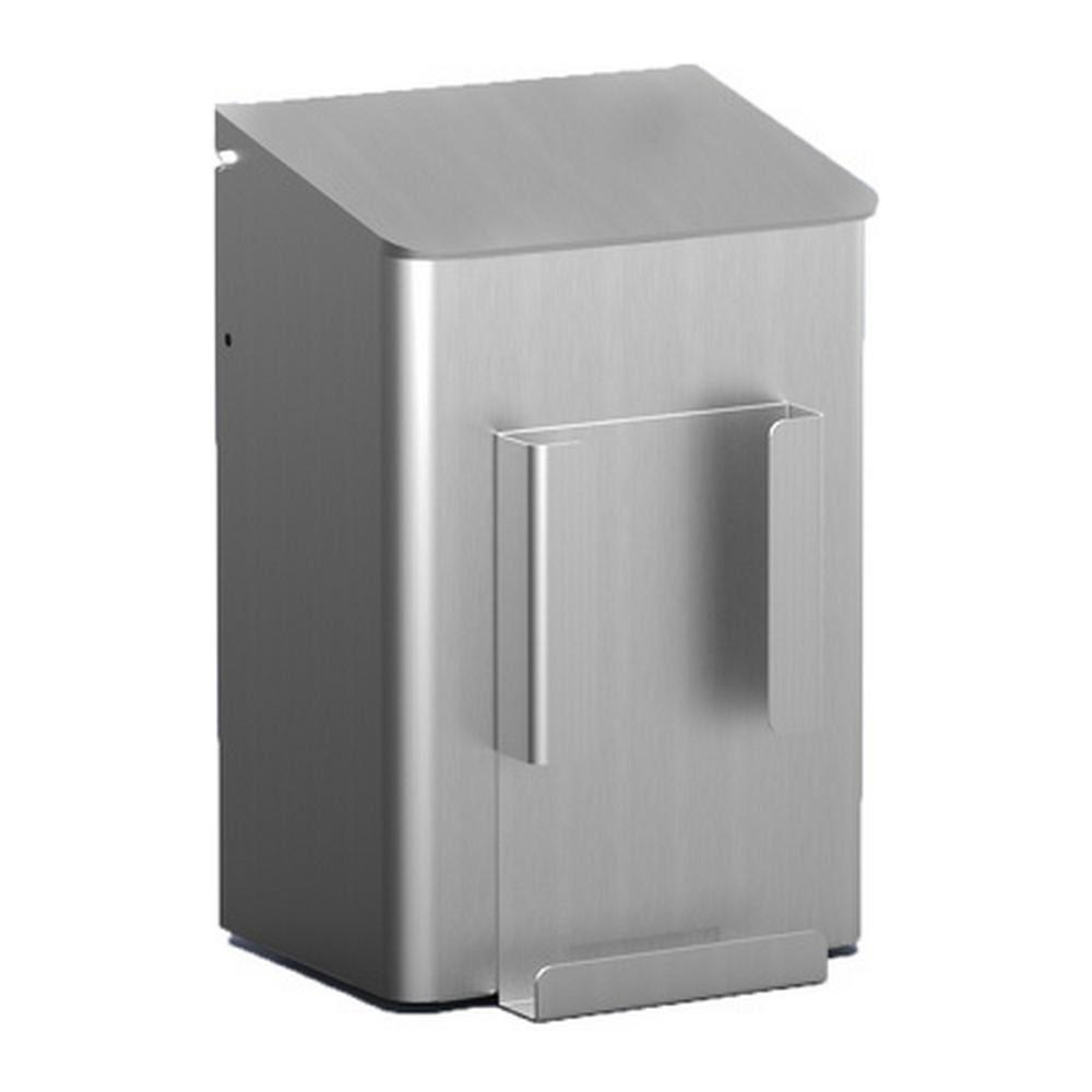 MediQoline Hygiënebak 6 liter aluminium + zakjeshouder papier