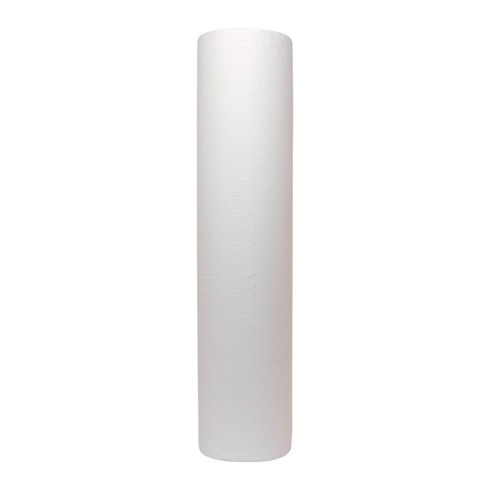 Onderzoekstafelpapier cellulose 60cm 2lgs 6x100mtr wit