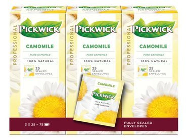 Pickwick | Kamille | Doos 75 zakjes