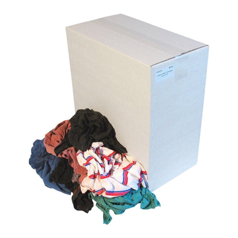 Poetsdoek dikke & dunne tricot doos 10 kg