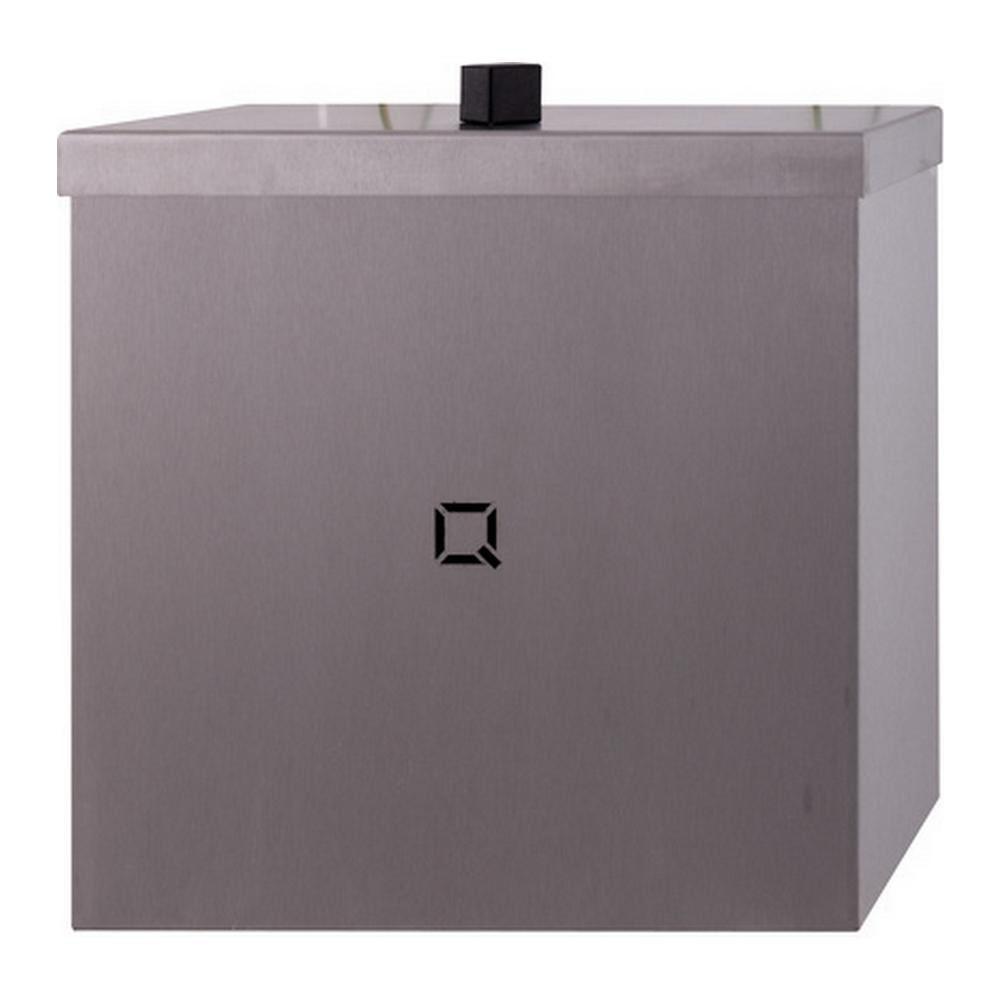 Qbicline afvalbak gesloten 9 liter