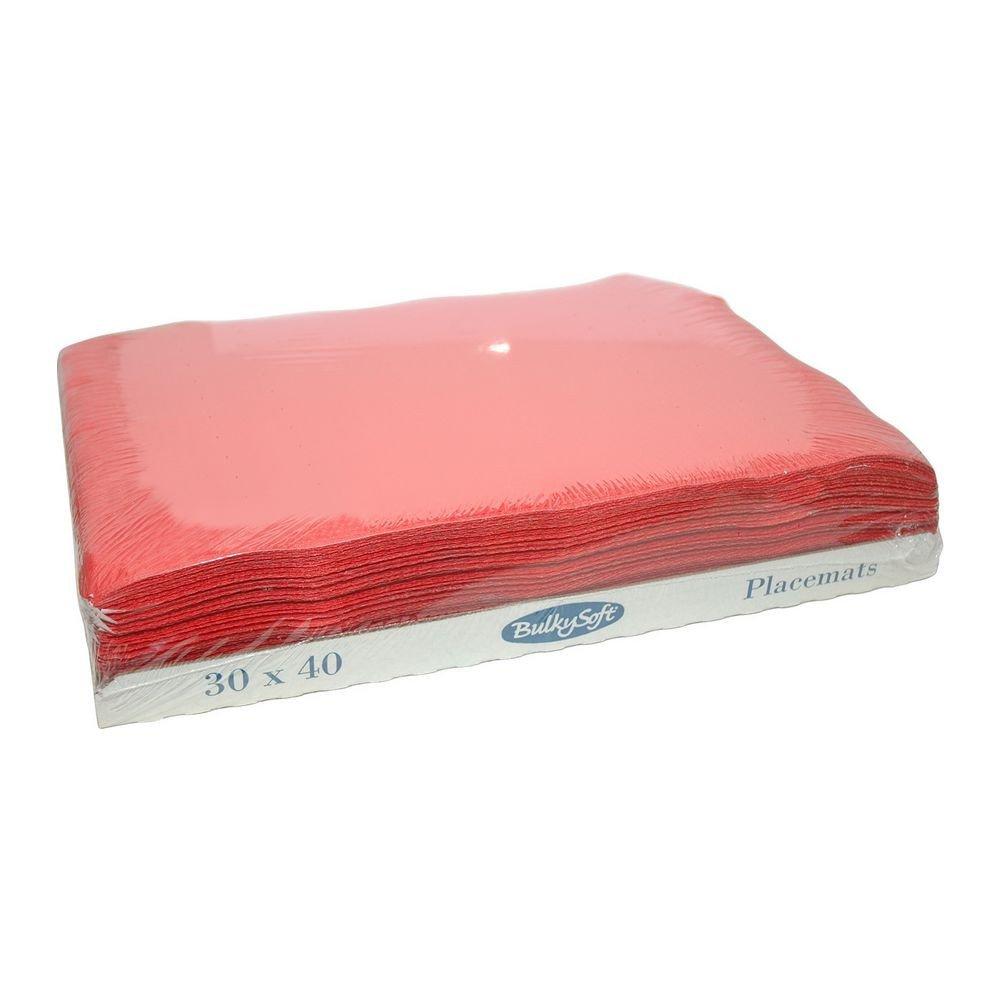 Bulkysoft Placemats rood 30x40cm 2000 stuks