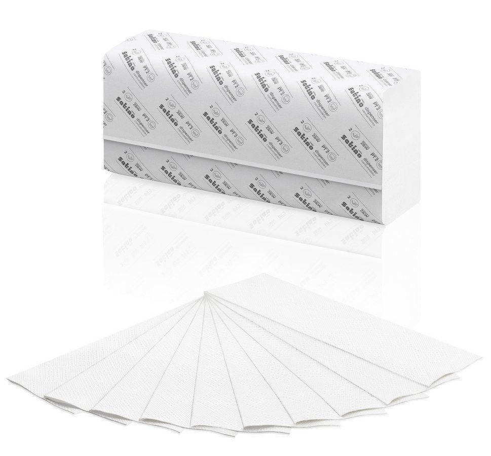 Satino | Z/W-vouwhanddoekjes | Prestige PT2 27660 | 20,6 x 32 cm | 3000 stuks