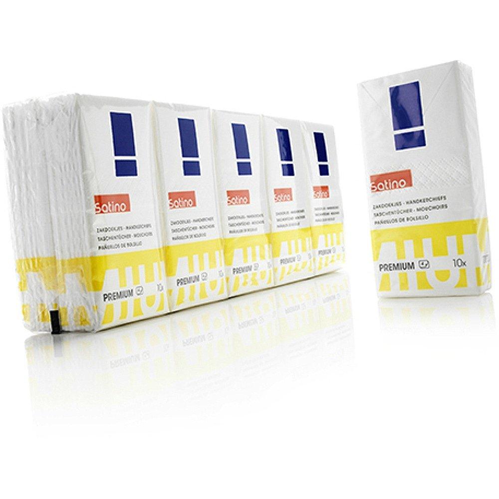 Satino Premium zakdoeken 24 x 10 pakjes