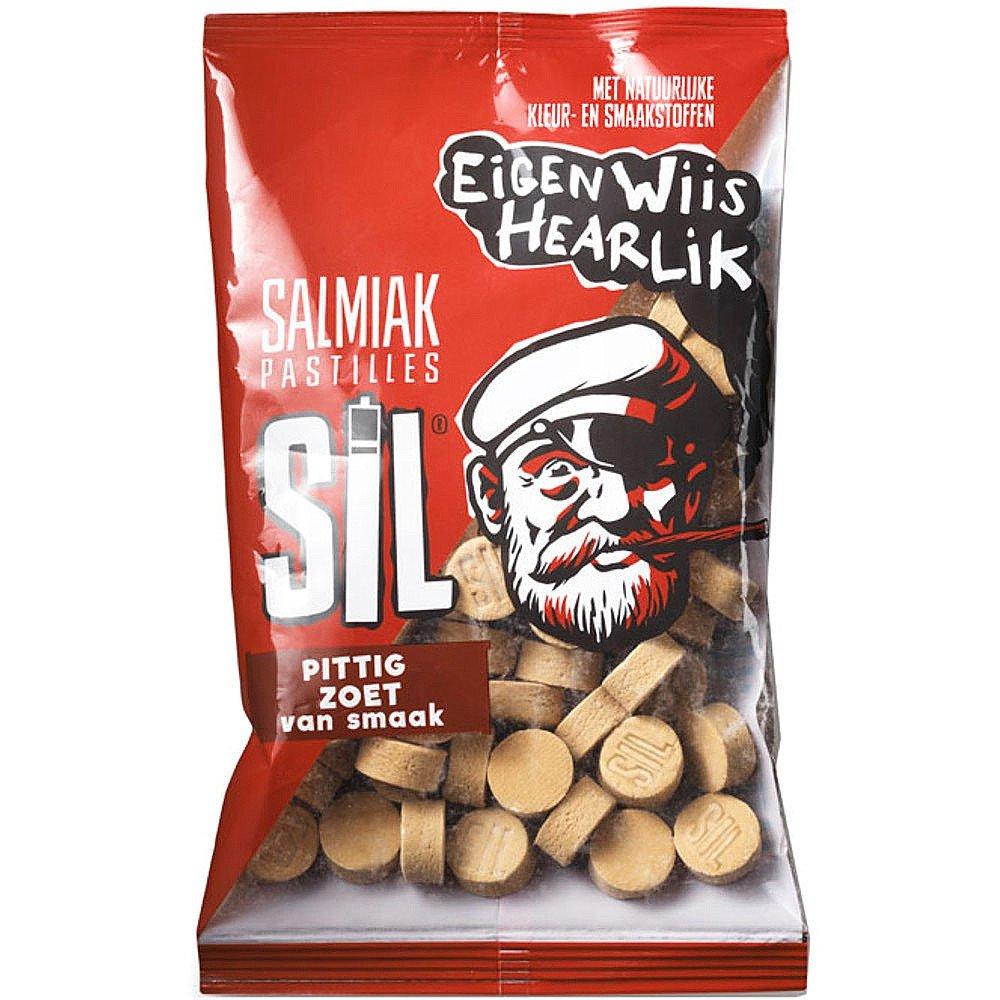 Sil Salmiak pastilles 200 gram 16 stuks