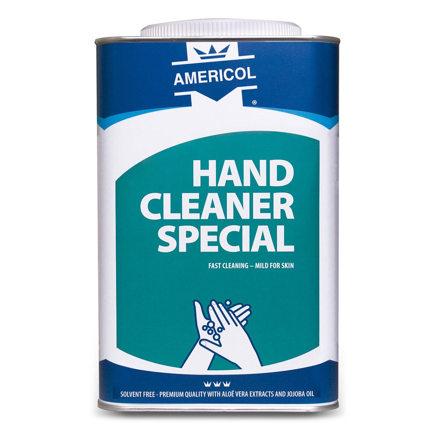 Americol | Hand cleaner | Garagezeep | Special | Blik 4 x 4,5 liter