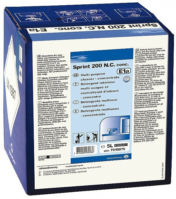 TASKI Sprint 200 N.C. concentraat cubitainer 5 liter