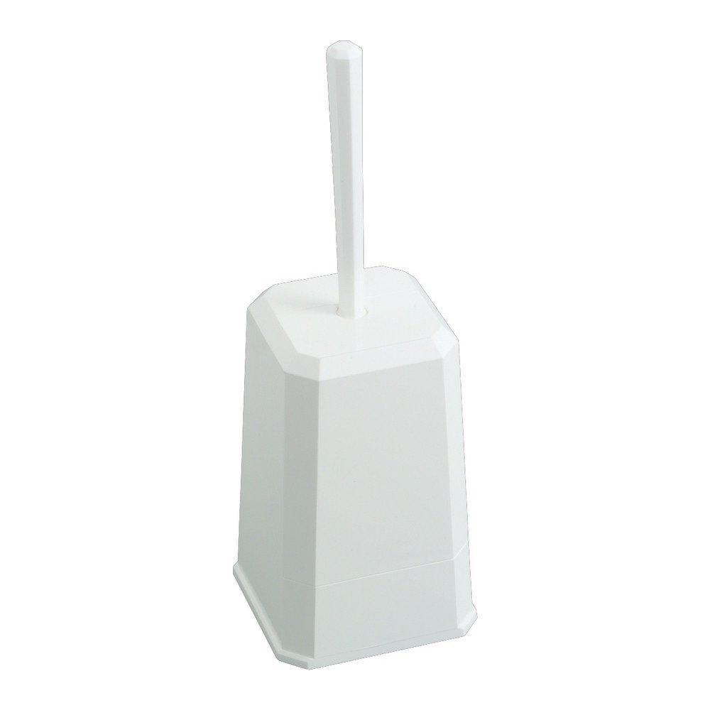 Euro Products Toiletborstelhouder incl. borstel kunststof wit