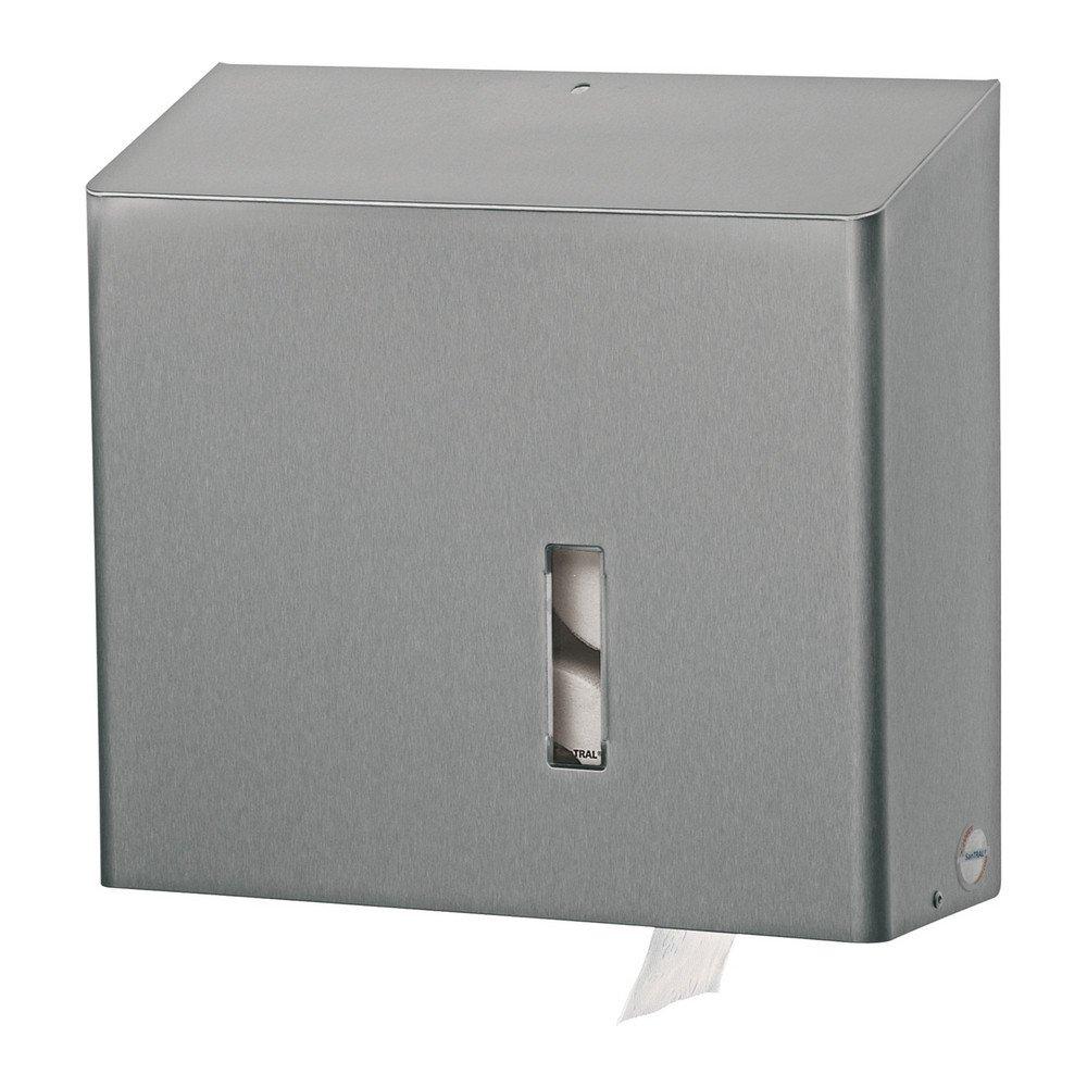Santral | Toiletroldispenser | 4-rols | RVS