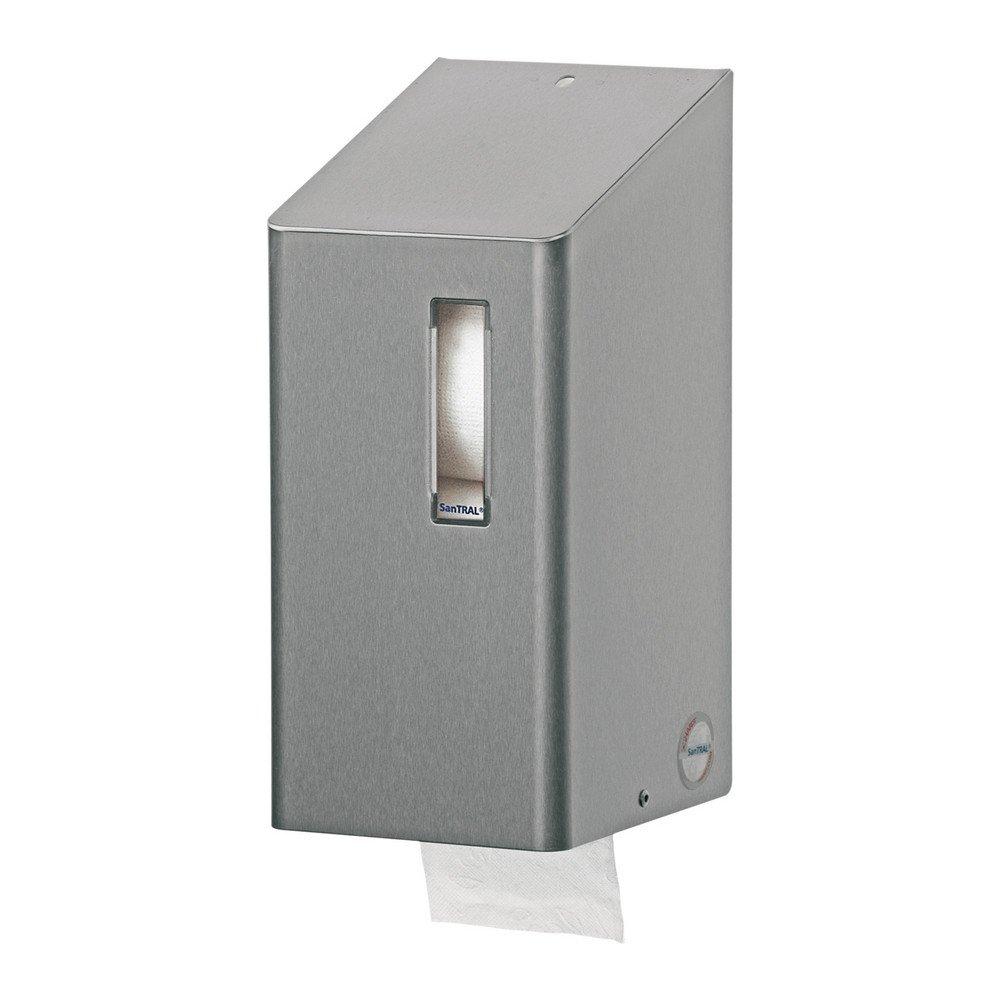 Santral | Toiletpapierdispenser | Doprollen | RVS