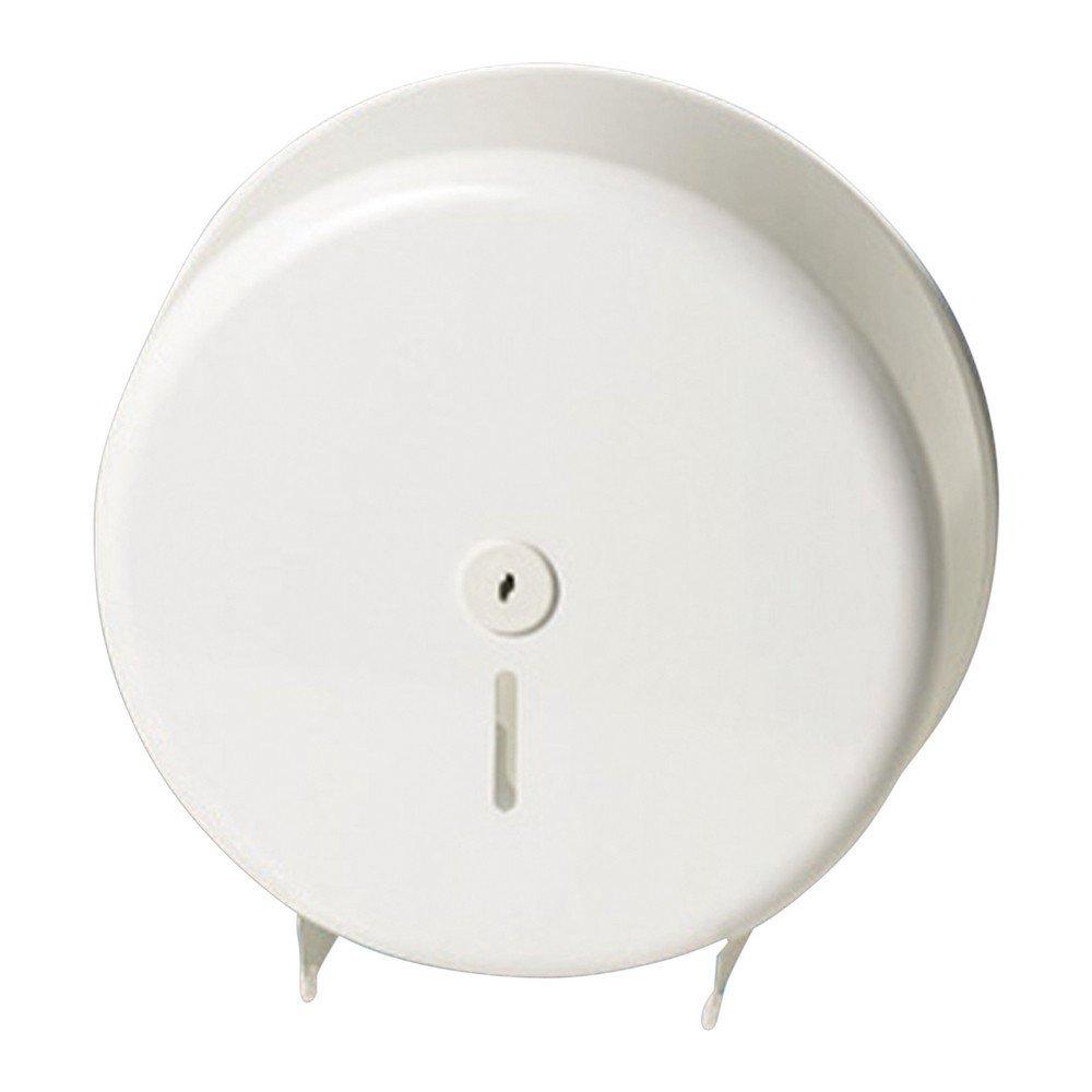 Euro Products | Toiletpapierdispenser Maxi jumborol | Staal | Wit