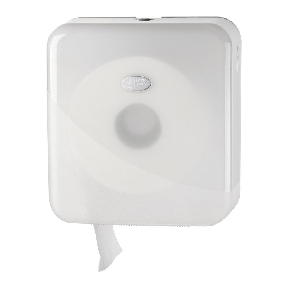 Euro Products | Toiletpapierdispenser | Mini Jumborol | Wit