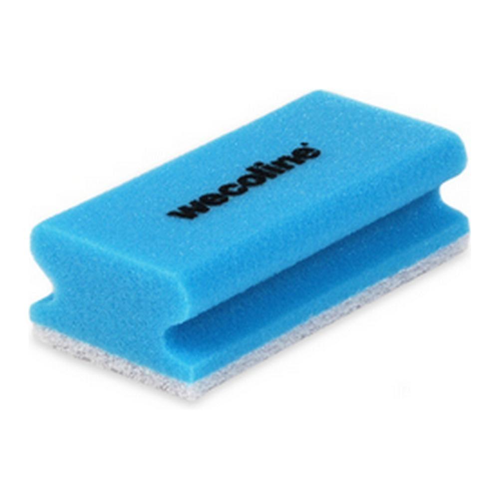 Weco schuurspons met grip blauw-wit 10 stuks