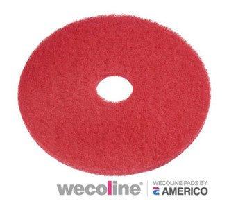 Wecoline | Vloerpad | 16 inch | Rood | Doos 5 stuks