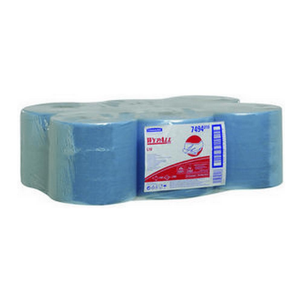 Kimberly & Clark | Wypall poetsdoeken 1- laags | 38 x 18.5 cm | 630 doekjes | Blauw
