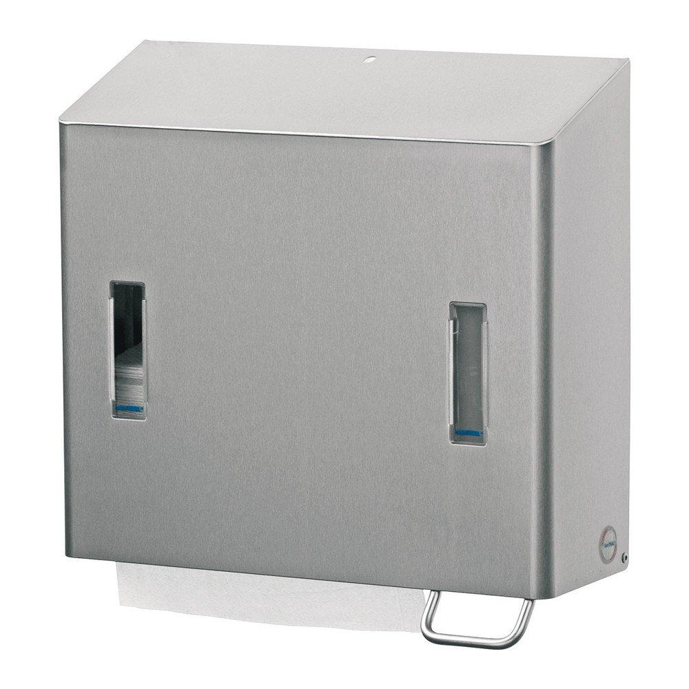 Zeep 1200 ml & handdoekdispenser Santral RVS