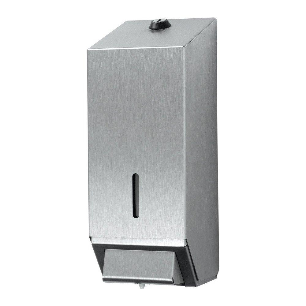 Euro Products | Zeepdispenser | Navulbaar | 1 liter | RVS mat