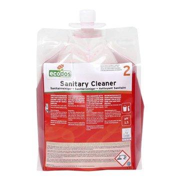 Ecodos | Sanitairreiniger zuur | Flacon 3 x 1,8 liter
