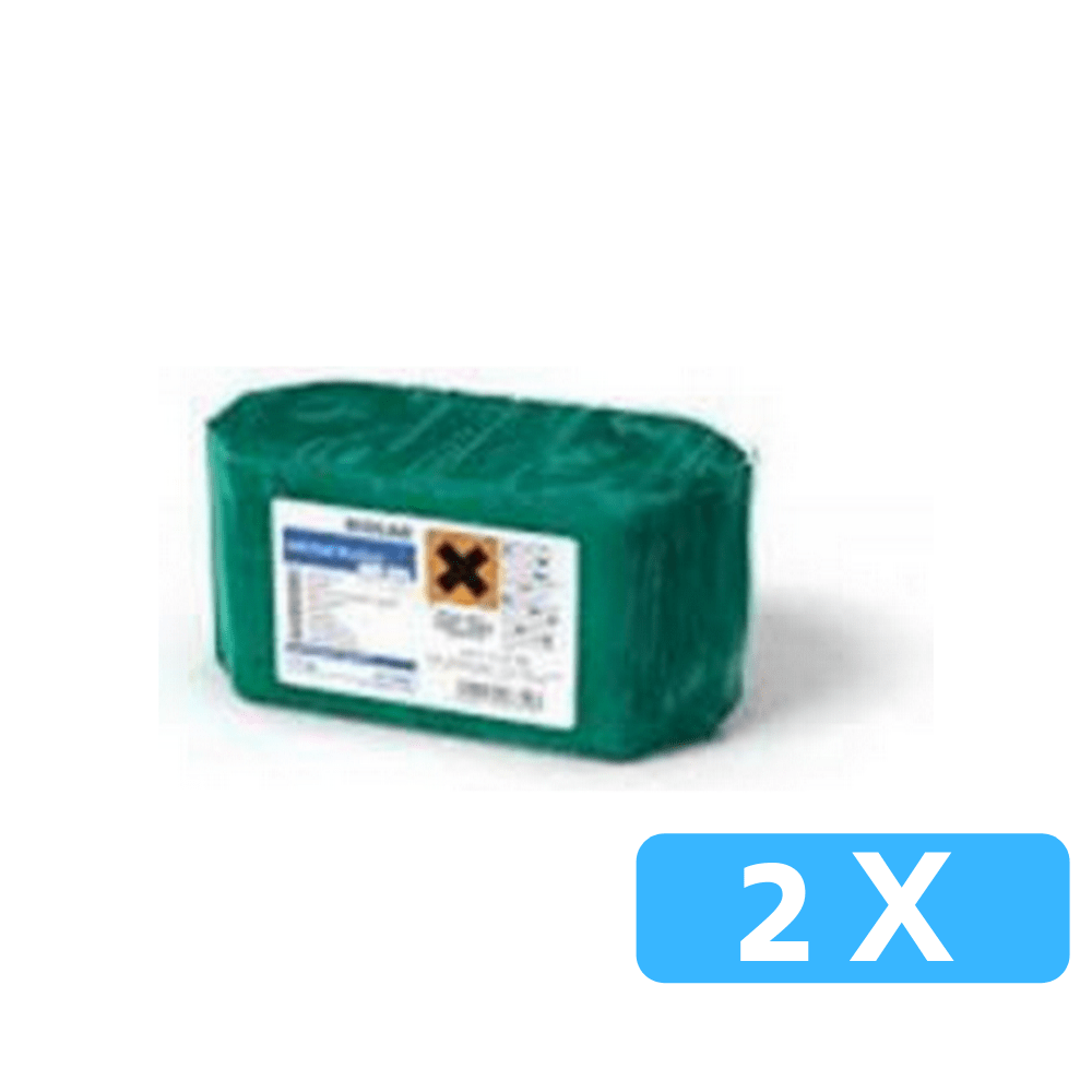 Ecolab solid clear dry clean 2 x 1.1 kg