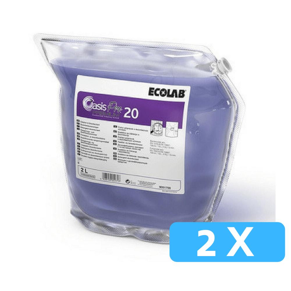 Ecolab Oasis Pro 20 2 x 2 liter