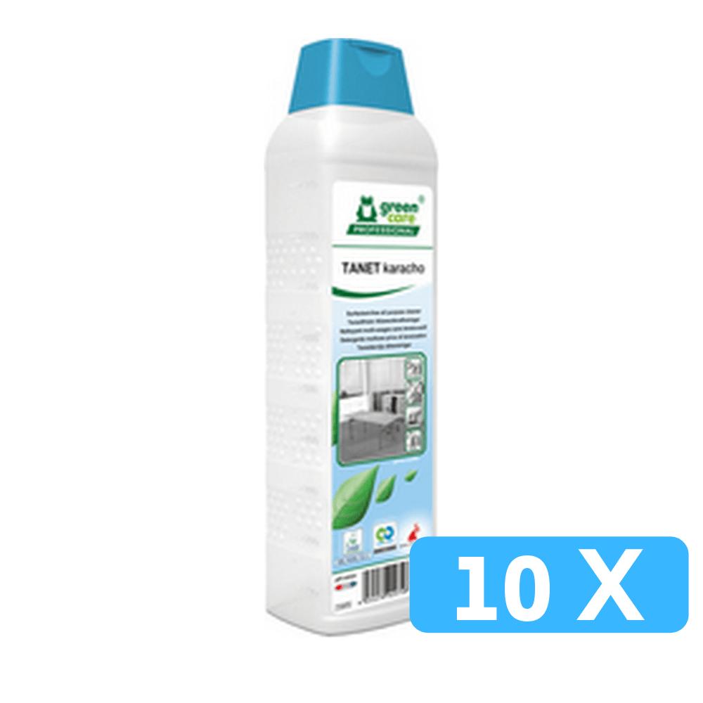 Green Care Tanet Karacho Tapijtreiniger en Vloerreiniger 10 x 1 liter