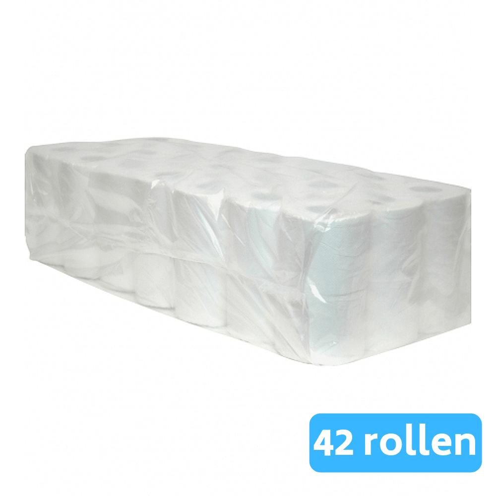 Toiletpapier Cellulose 2-laags 7 x 6 rollen