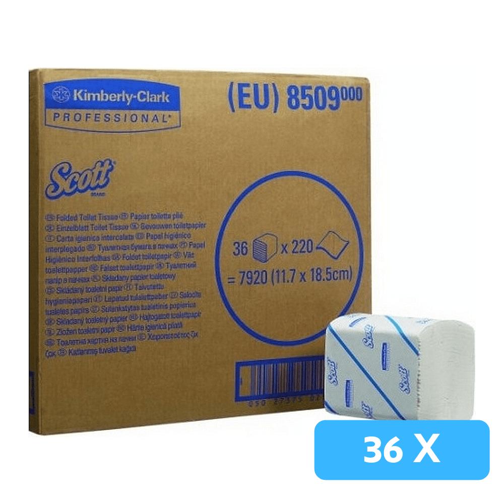 Scott | Bulkpack toiletpapier 2-laags | 36 x 220 vel