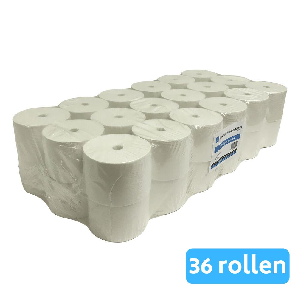 4UStore Coreless Toiletpapier 1-laags Recycled 36 rollen