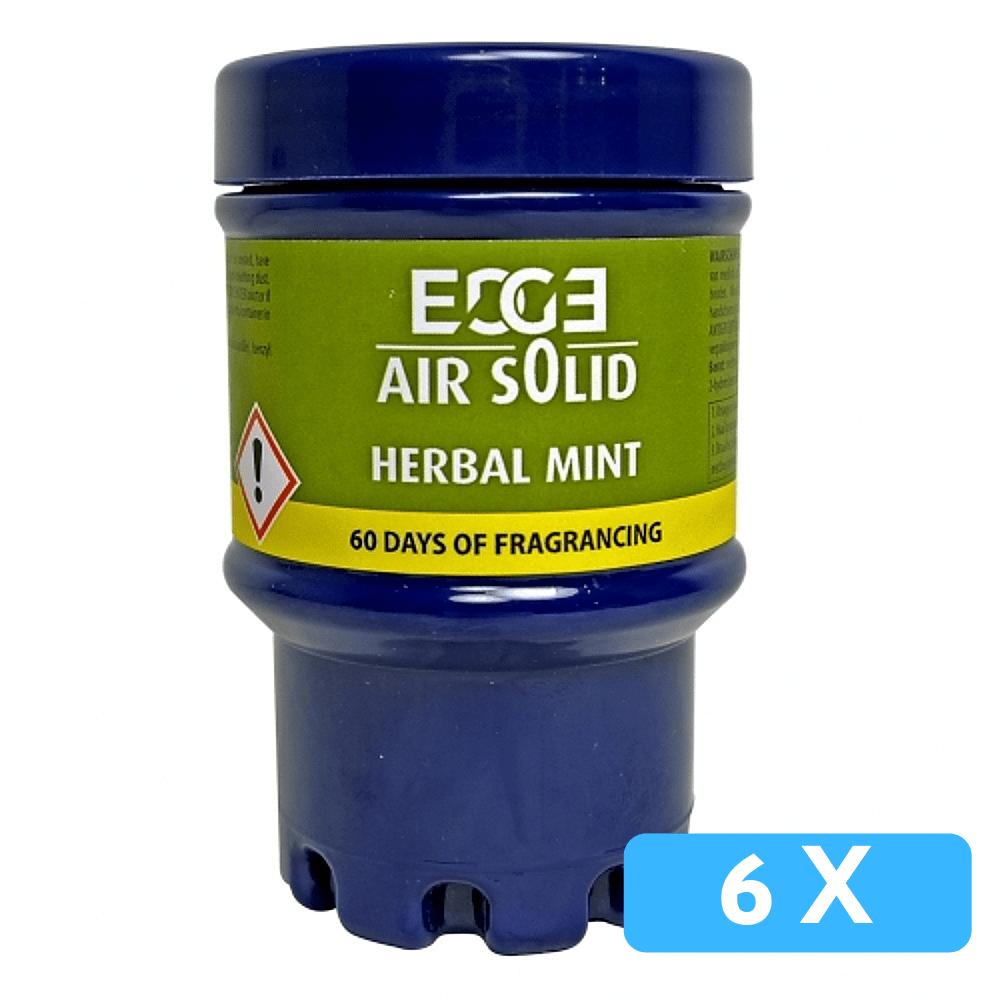 Quartz | Luchtverfrisser | Green air | Herbal mint | Navulling: 6 stuks