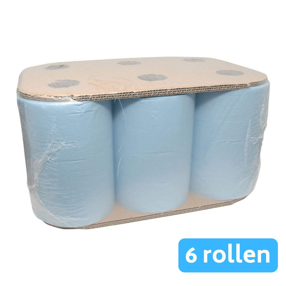 Euro Products | Handdoekrol | Ultimatic cellulose | Blauw | 6 x 110 meter