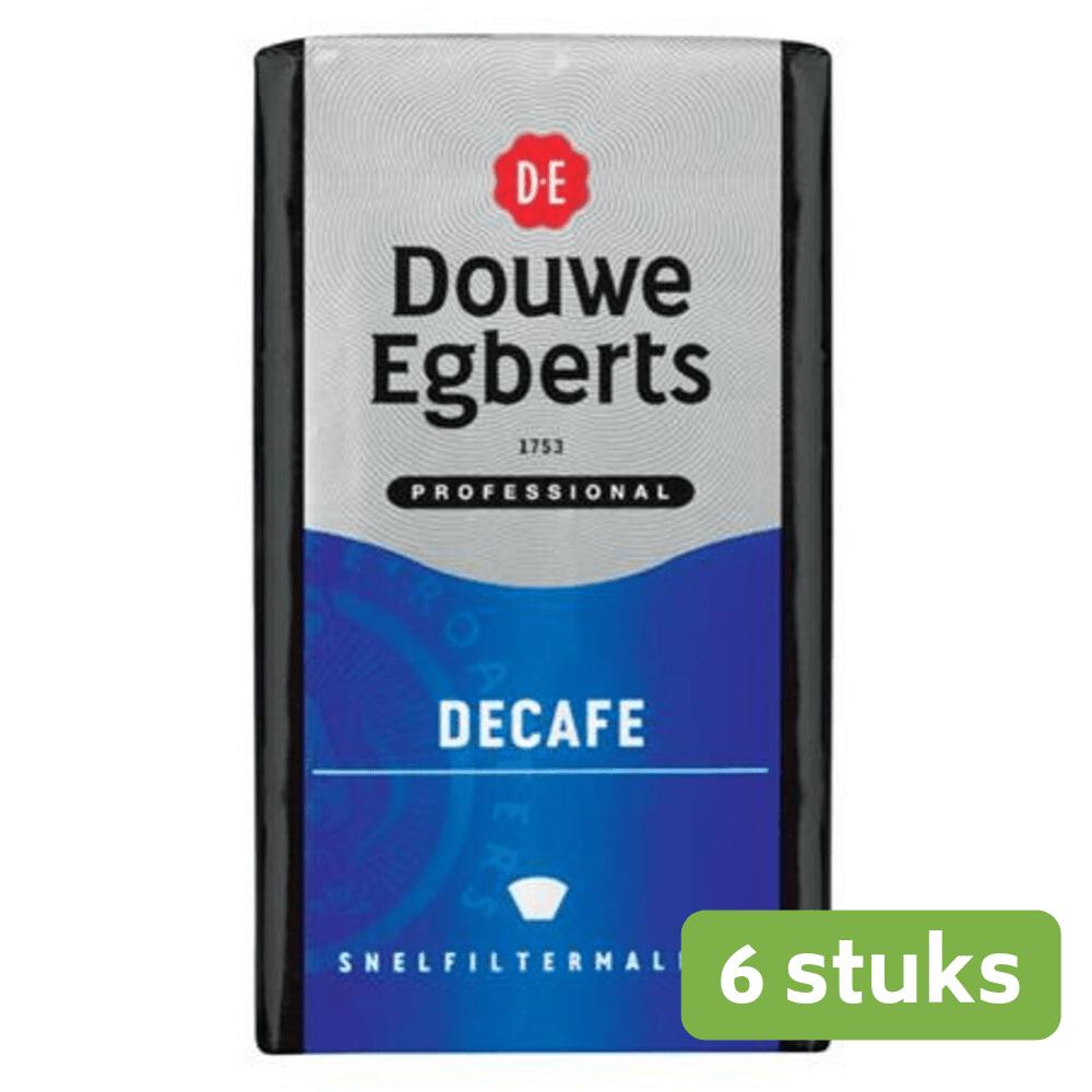 Douwe Egberts Decafé snelfilter 6 x 500 gram