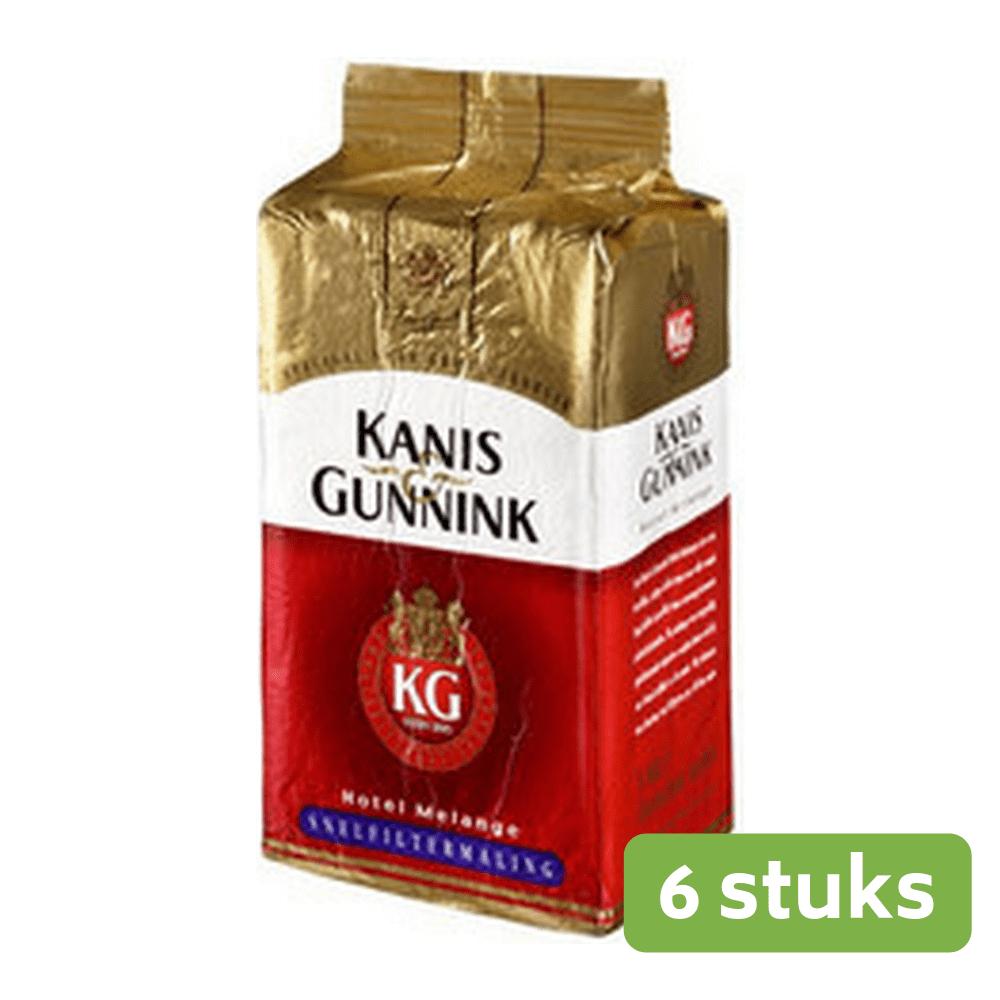 Kanis & Gunnink Rood snelfilter 1 kg. 6 stuks