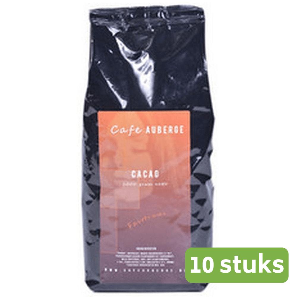 Café Auberge   Cacao Fairtrade   Zak 10 x 1 kg