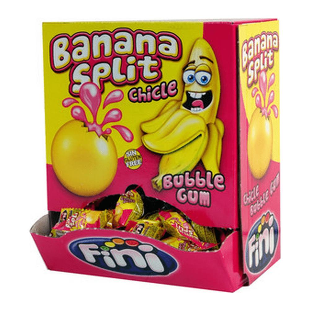Fini | Banana split gum | 200 stuks