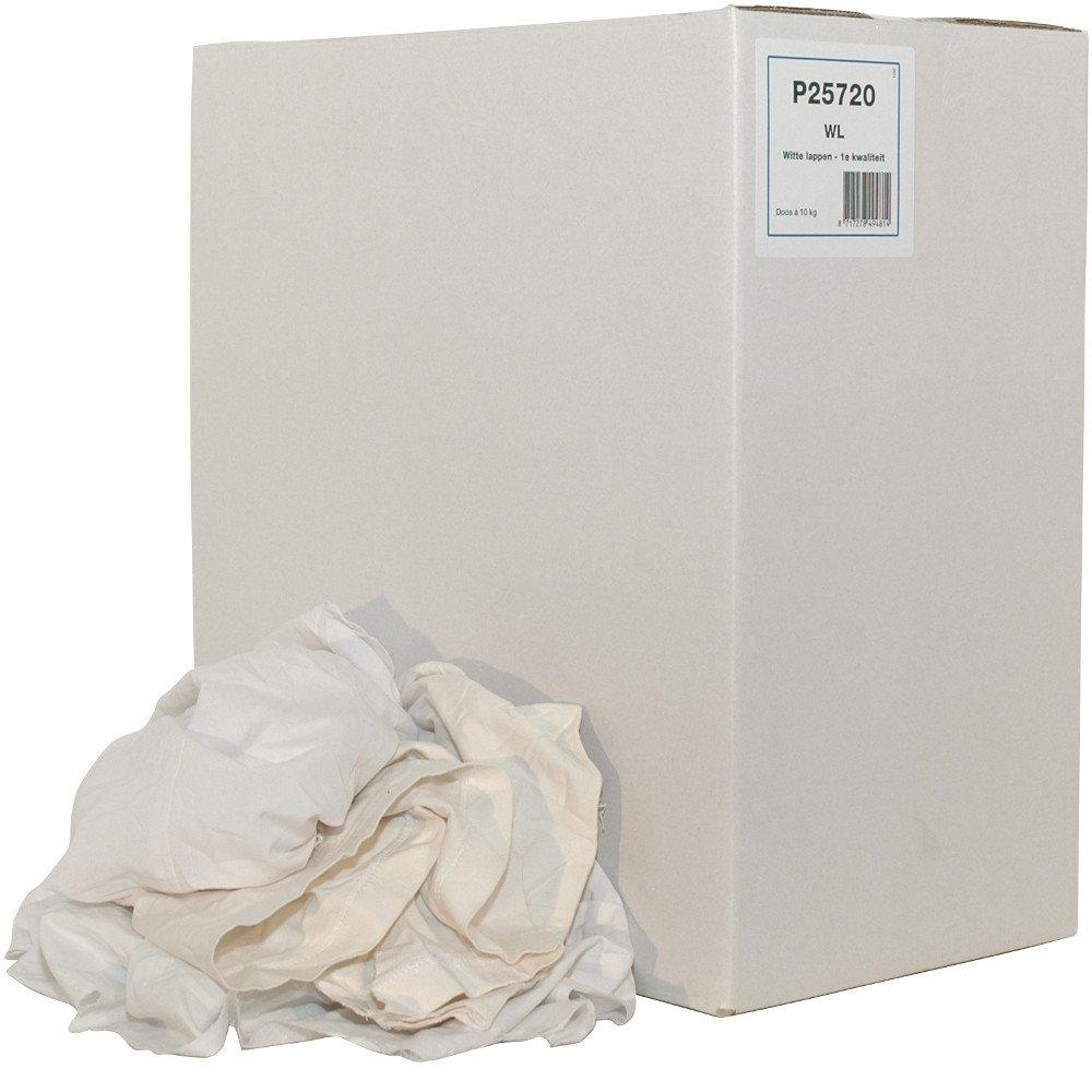 Euro Products Witte Lappen 1ste kwaliteit doos 10 kg