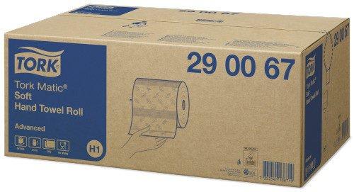 Tork Matic soft handdoekrol 2 laags 6 stuks