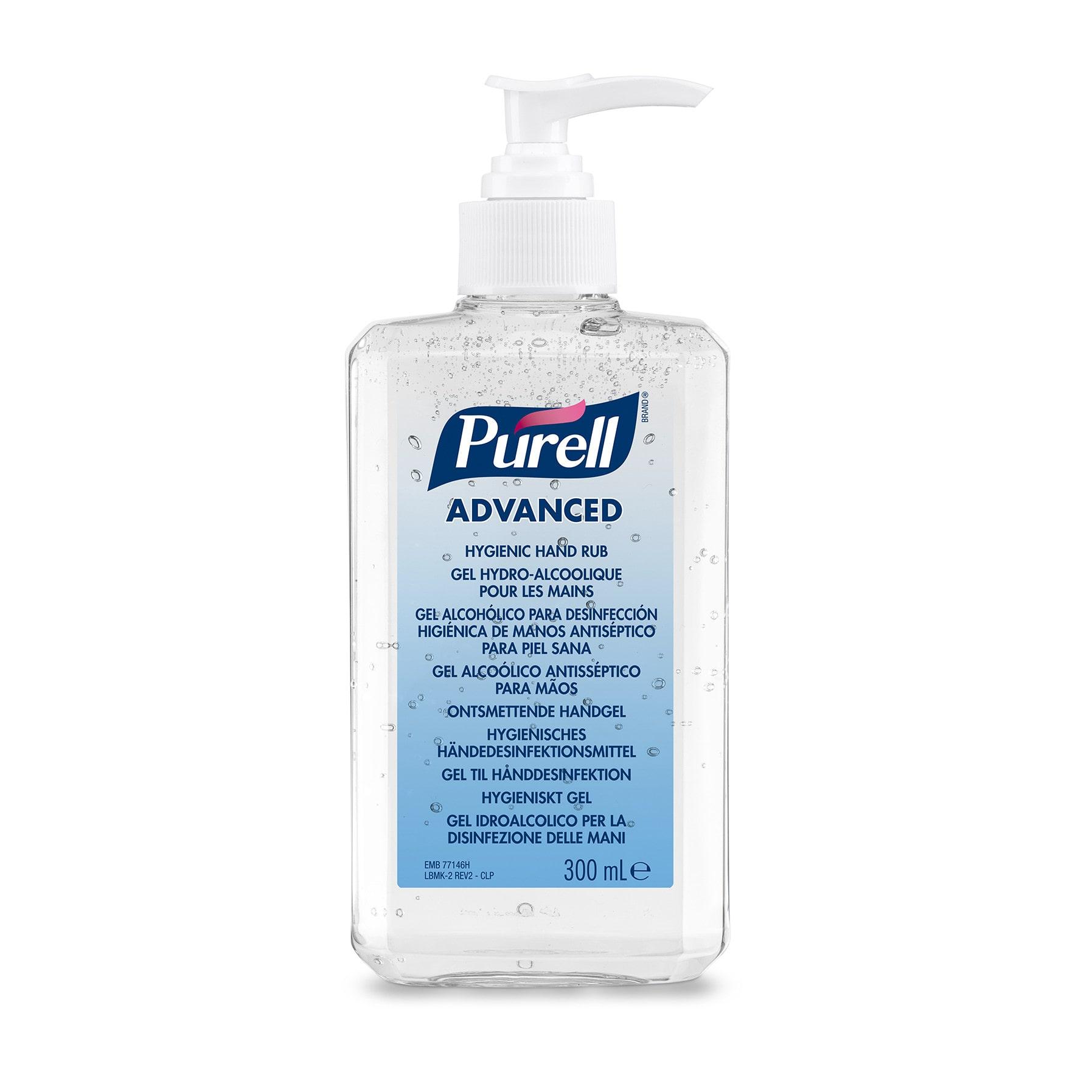 Gojo Purell Advanced desinfecterende handgel 12 x 300 ml