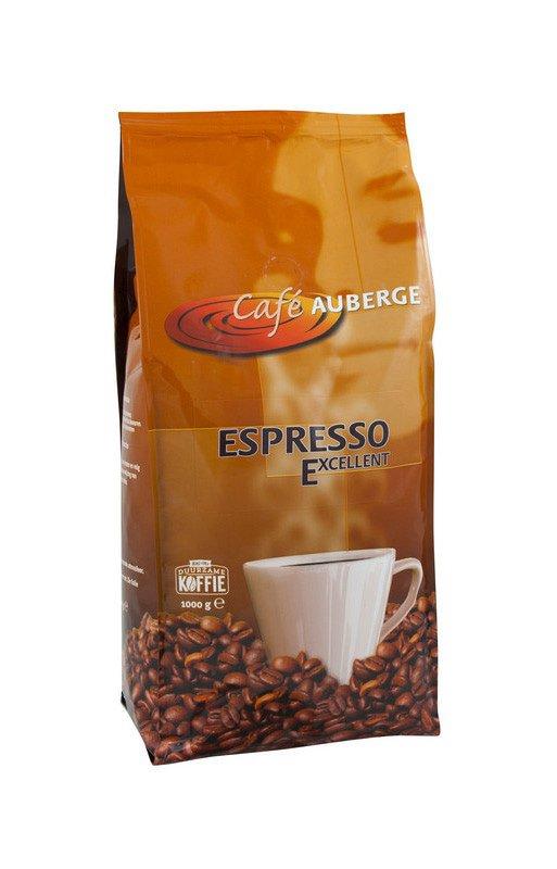 Cafe Auberge   Excellent bonen   Pak 8 x 1 kg