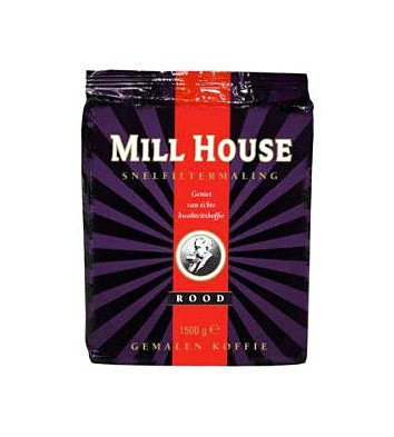 Millhouse | Rood snelfilter | Doos 4 x 1,5 kg