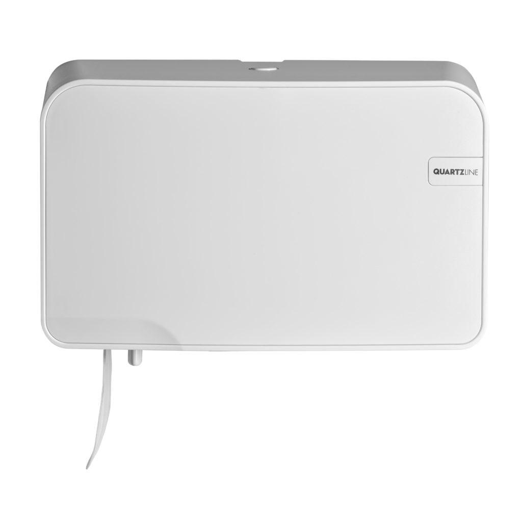 Euro Products | Quartz | Coreless Duo | Toiletrolhouder | Wit