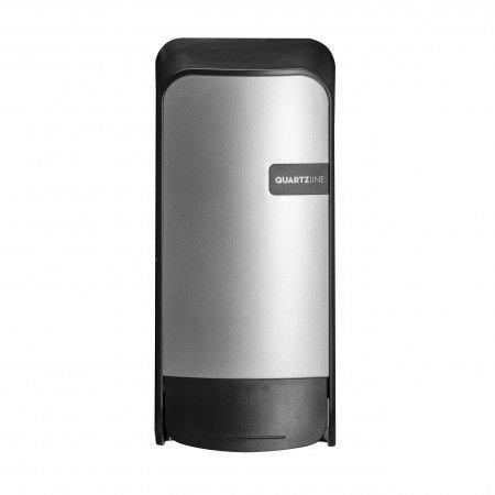 Euro Products | Quartz | Zeepdispenser met navulbare flacon | Zilver