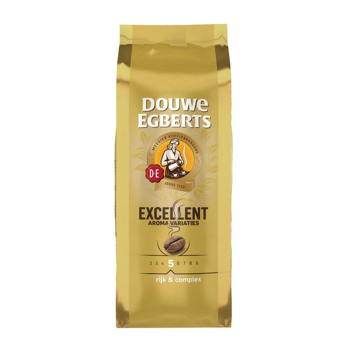 Douwe Egberts | Aroma Excellent Bonen | 4 x 500 gram