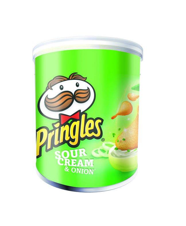 Pringles | Sour Cream & Onion | 12 stuks