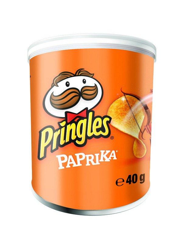 Pringles | Paprika | 12 stuks