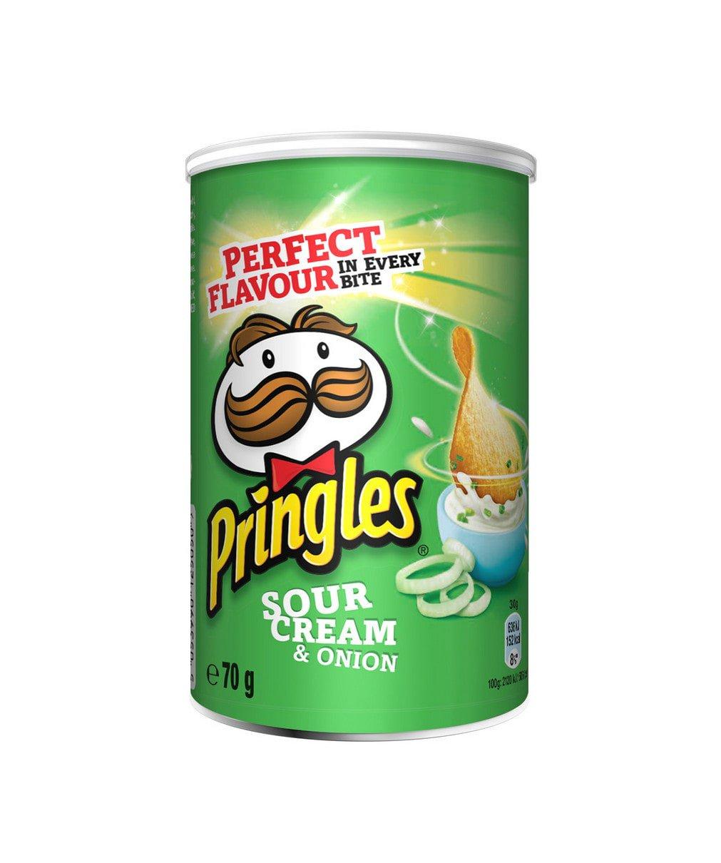Pringles   Sour Cream & Onion   12 x 70 gram